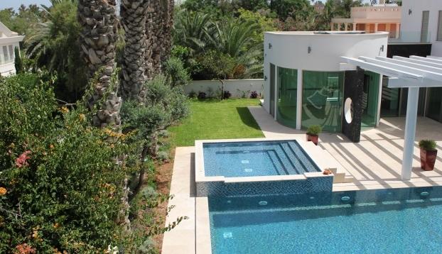 בלתי רגיל וילה למכירה מפוארת ויוקרתית בהרצליה פיתוח - נכסי יוקרה בישראל -בתי AA-26